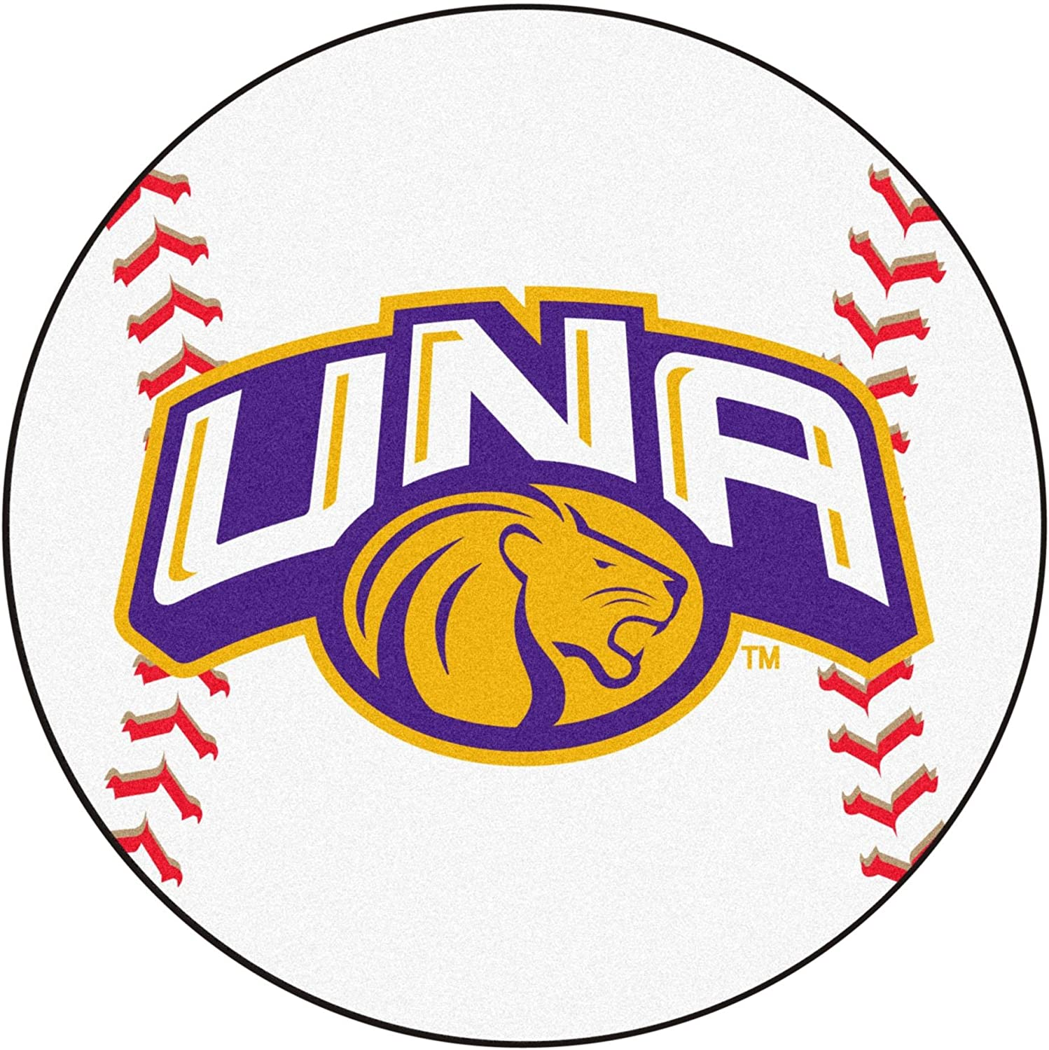 University of North Alabama Baseball Rug
