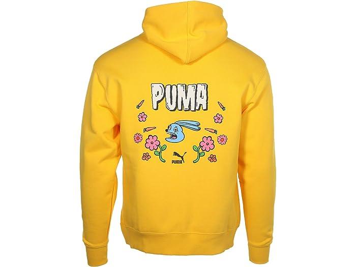Puma X Randomevent Hoodie Lemon Chrome Hoodies & Sweshirts