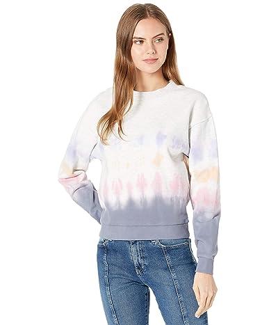 Blank NYC Multicolor Tie-Dye Cropped Sweatshirt Women