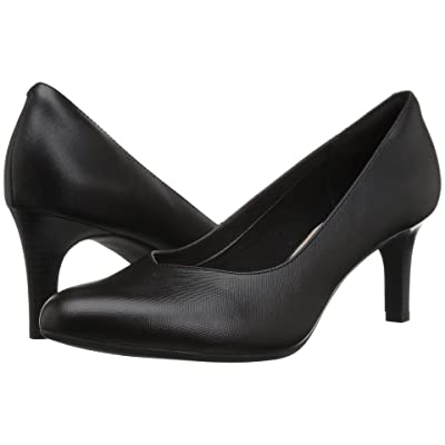 Clarks Dancer Nolin (Black Embossed Leather) Women