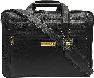 BAG JACK - Aurigae | Meet Your Business Needs | hancrafted | Men Office Bag | Leather Laptop Bag | Laptop size - 15.6/17 inch
