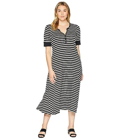 Lauren Ralph Lauren Plus Size Cotton Fit And Flare Dress