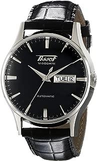 Men's T0194301605101 Visodate Black Dial Watch