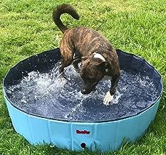 BINGPET Large Dog Swimming Pool Pet Bathtub Collapsible Puppy Bath Tub