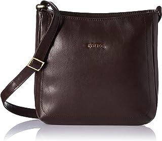 Amazon Brand - Symbol Handbag (Brown)