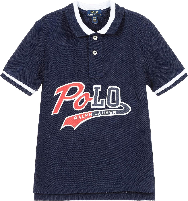 Ralph Lauren Boys Cotton Logo Polo Shirt