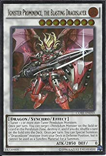 Yu-Gi-Oh! - Ignister Prominence, the Blasting Dracoslayer (CORE-EN050) - Clash of Rebellions - Unlimited Edition - Ultimate Rare
