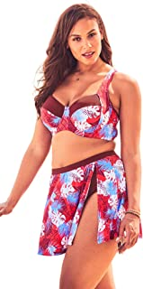 Swimsuits For All Women's Plus Size Sweetheart Bikini Top