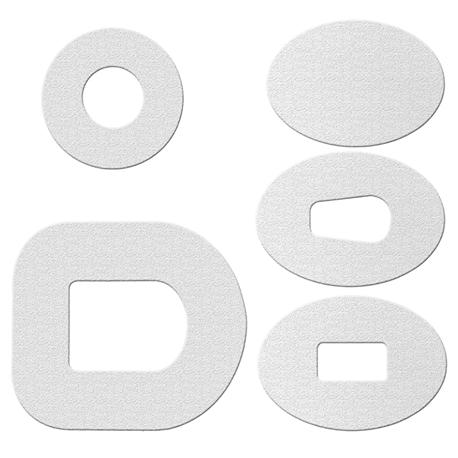 ExpressionMed Patches 10 Pack - Waterproof Design: White - Color Your Own (White, Omnipod)