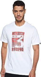 adidas mens MEN EXTRUSION MOTION BRAND SLOGAN TEE T-Shirt