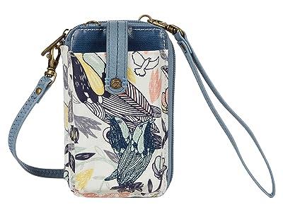 Sakroots Artist Circle Smartphone Wristlet (Multi Peace Birds) Wristlet Handbags