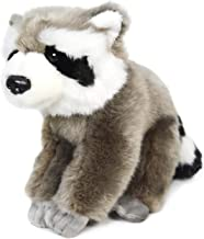 VIAHART Roux The Raccoon | 7 Inch (Excluding The Tail!) Stuffed Animal Plush | by Tiger Tale Toys