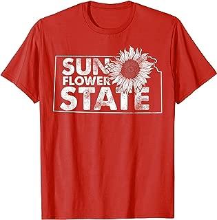 The Sunflower State Kansas Hometown Pride Vintage T-Shirt