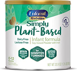 Enfamil A+ Stage 1 Soy Infant Formula Baby Milk Powder 360DHA+ , 0 to 12 months, 624g(packaging may vary)