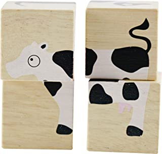 BeginAgain - BuddyBlocks Farm Animals, Help Promote Matching Skills and Problem Solving (For Kids 18 Months and Up)