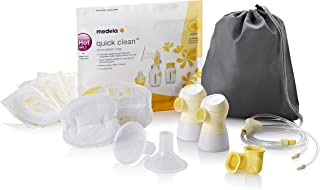 Medela, Pump Parts, Sonata Double Pumping Kit, Authentic Spare Parts Designed for Sonata Breast Pump, Made Without BPA