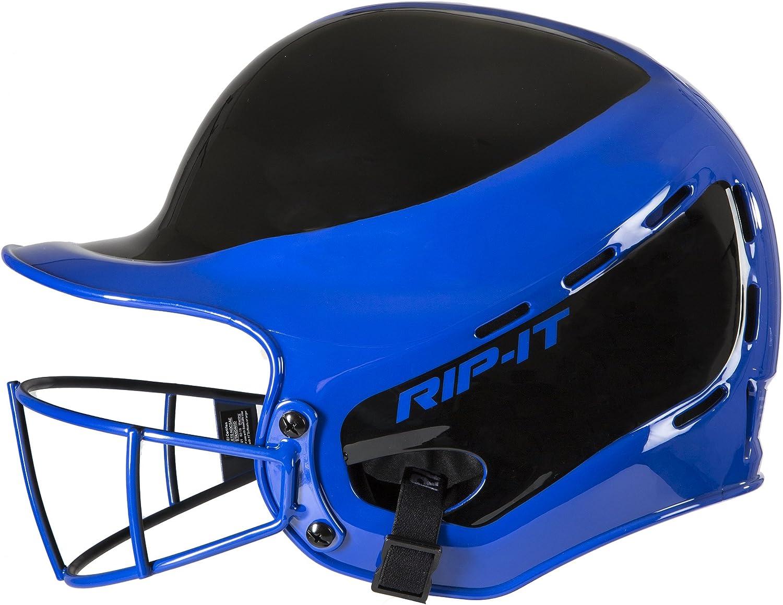 RIPIT Vision Pro Away Softball Batting Helmet