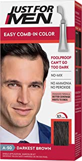 Just For Men AutoStop Men's Hair Color, Darkest Brown