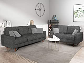 Incroyable US Pride Furniture S5420 S+L Macsen 2 Piece Living Room Set, Grey
