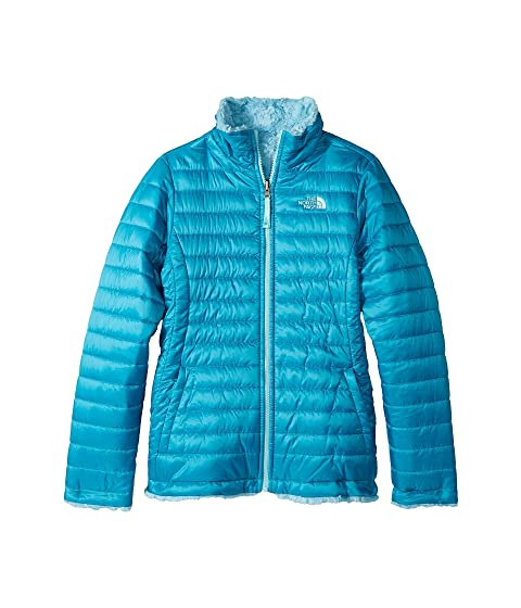 e852f52370e0 The North Face Kids Reversible Mossbud Swirl Jacket (Little Kids Big ...