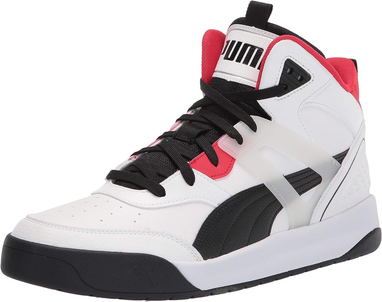 PUMA Men's Backcourt Mid Sneaker