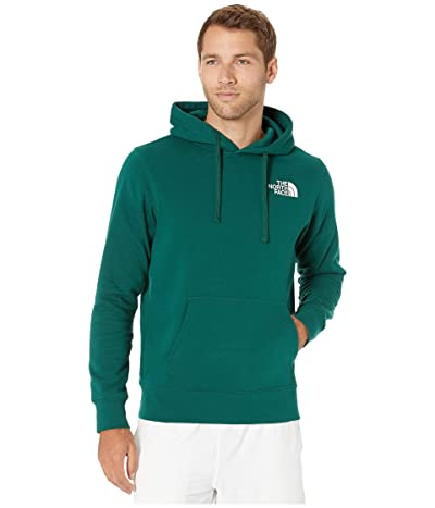 The North Face Red Box Pullover Hoodie (Night Green/TNF Black) Men