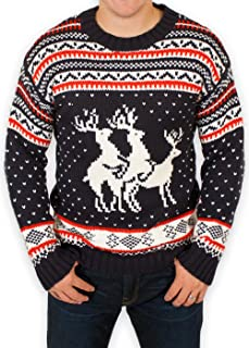 deer threesome sweater