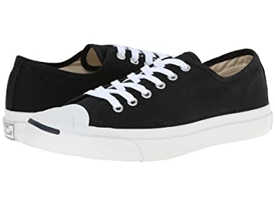 Converse Jack Purcell(r) CP Canvas Low Top (Black/White) Classic Shoes