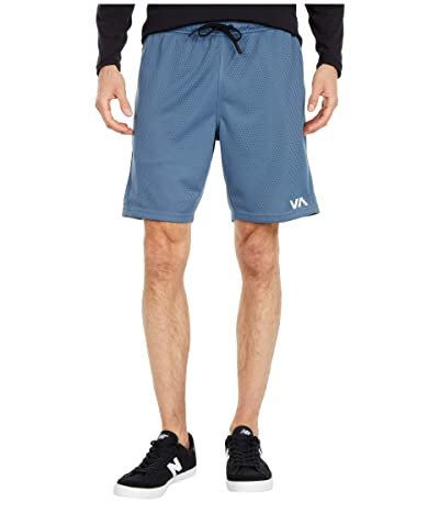 RVCA VA Sport Mesh Shorts (China Blue) Men