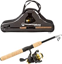 Wakeman Ultra Series Telescopic Spinning Rod and Reel Combo