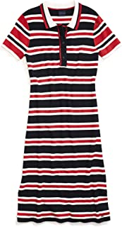 Tommy Hilfiger Women's Adaptive Polo Dress with Magnetic Buttons