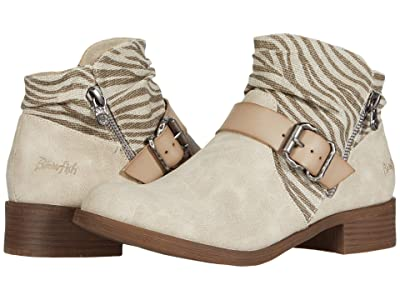 Blowfish Viten (Birch Zebra Rancher/Die Cut/Light Taupe Prospector) Women