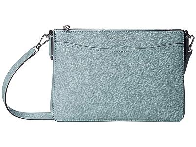 Kate Spade New York Margaux Medium Convertible Crossbody (Hazy) Handbags
