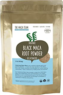 gelatinized black maca