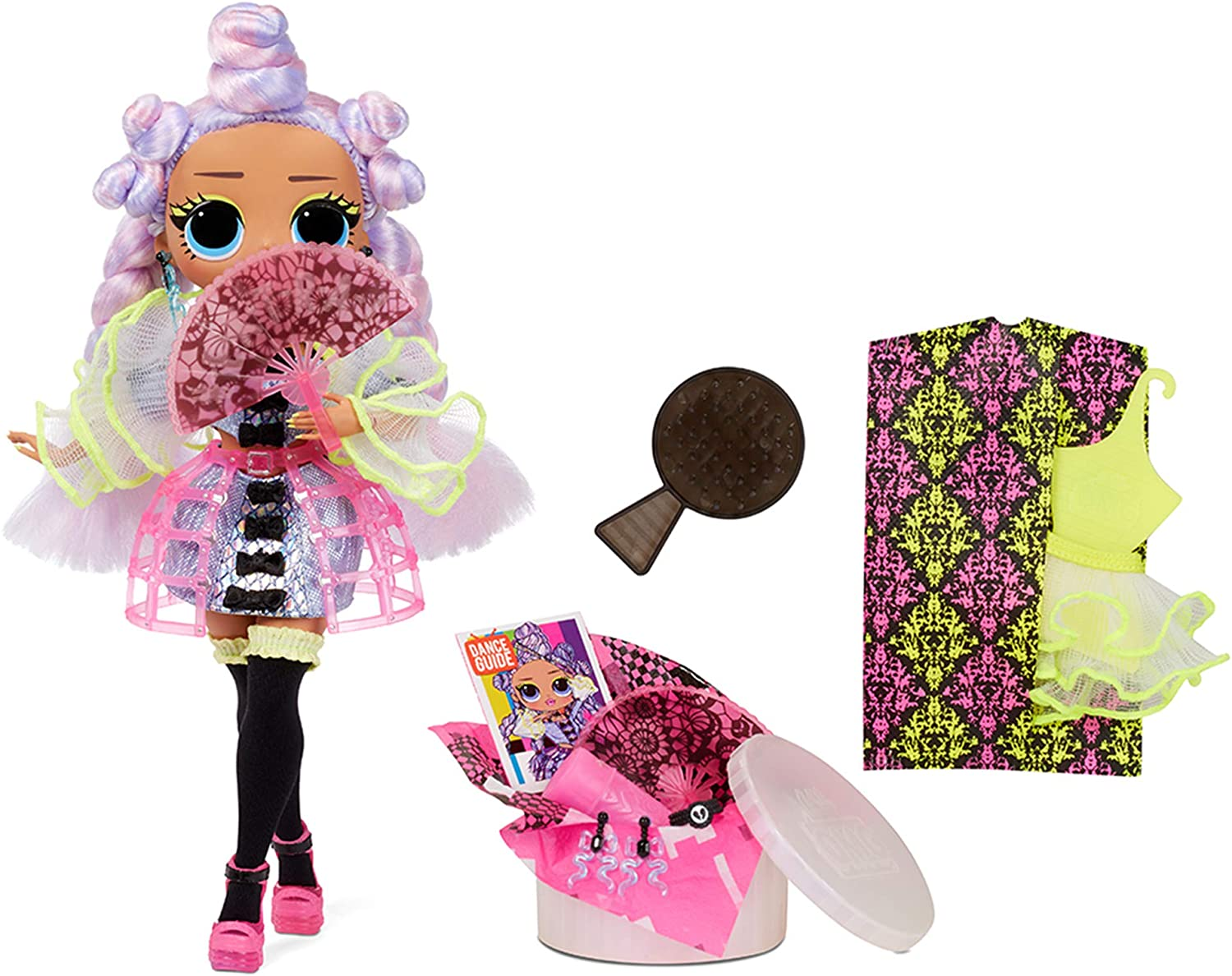 LOL OMG Dance Dance Dance Miss Royale Doll - The Doll and the Accessories