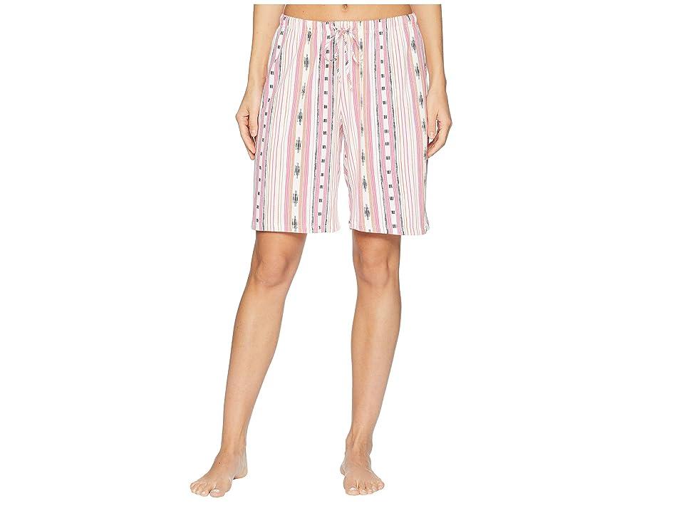 Jockey Printed Bermuda Shorts (Party Stripe) Women