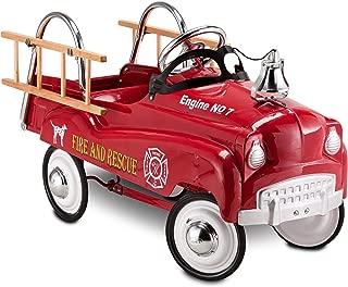 InStep Fire Truck Pedal Car (Renewed)