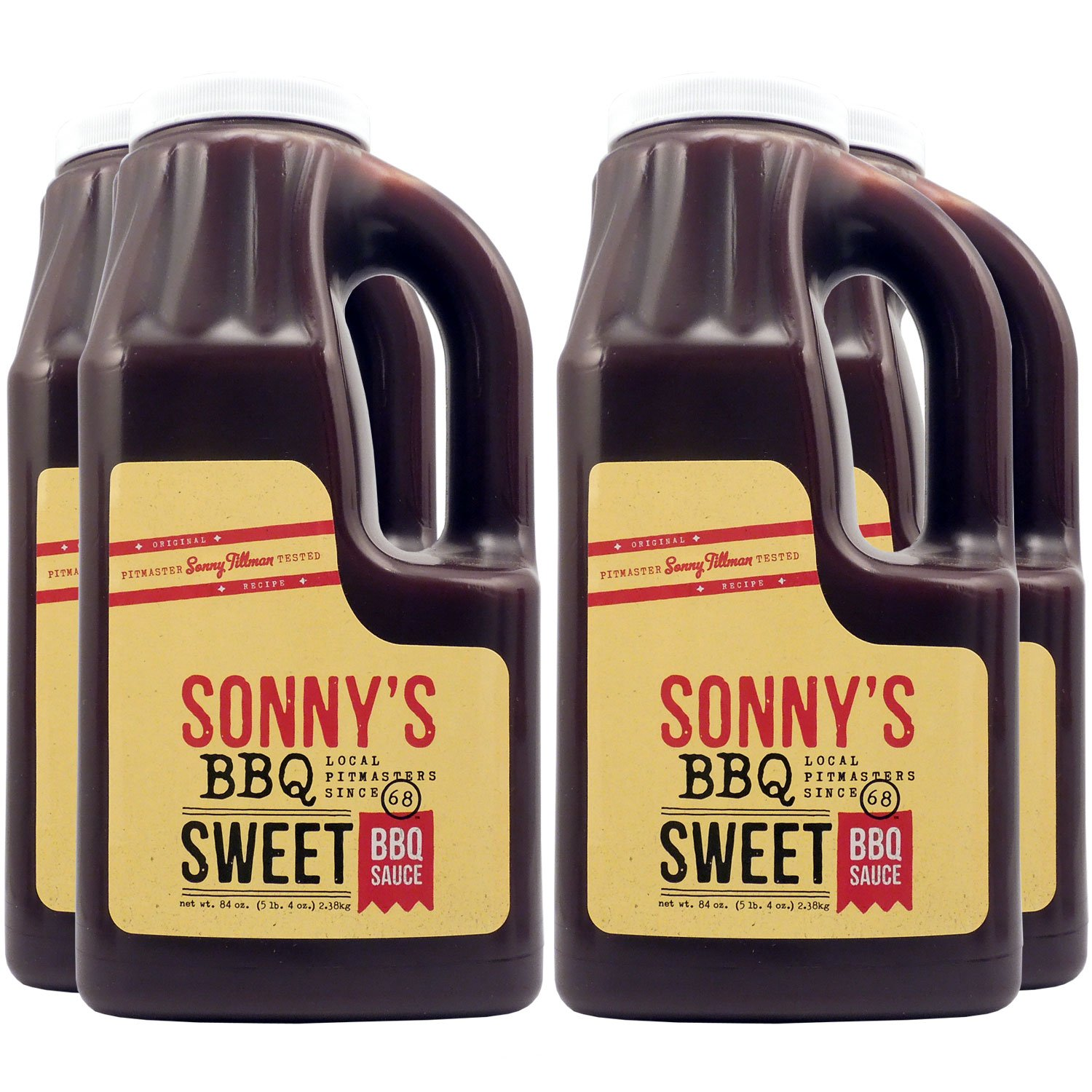 Sonny's Real Pit Bar-B-Q Sweet Sauce High material - CASE 4 Ranking TOP4 OF PACK