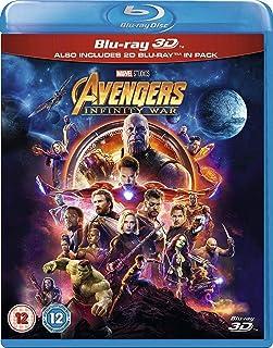 Avengers Infinity War [Blu-ray 3D + Blu-ray]