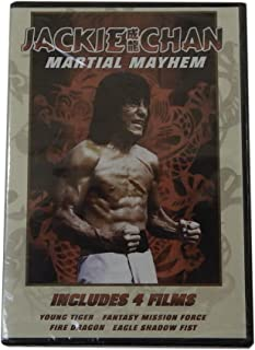 Jackie Chan Martial Mayhem: Young Tiger, Fantasy Mission Force, Fire Dragon, and Eagle Shadow Fist