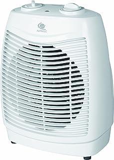 Alpatec RST 2400 - Calefactor portátil, aire caliente y frío, 2400 W, 20 x 27 x 9 cm, color blanco