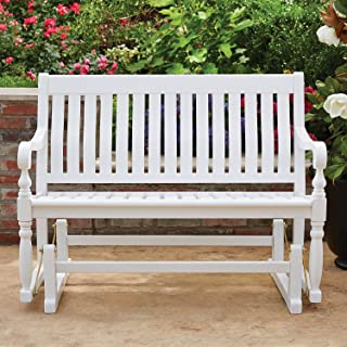 member's mark painted wood porch rocker white