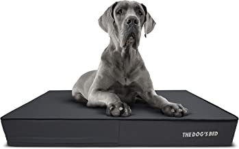 The Dog's Bed Orthopedic Dog Bed, Premium Memory Foam S-XXXL, Waterproof, Dog Pain Relief for Arthritis, Hip & Elbow Dysplasia, Post Surgery, Lameness, Senior Supportive, Calming Bed, Washable Cover