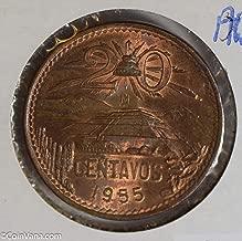 20 centavos 1955