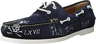 ralph lauren blue boat shoes