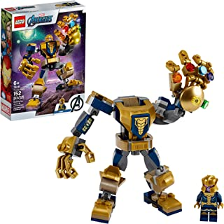 LEGO Marvel Avengers Thanos Mech 76141 Cool Action Building Toy for Kids with Mech Figure..