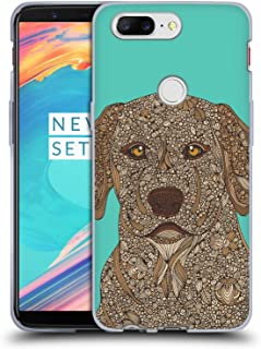 Official Valentina Yellow Lab Dogs Soft Gel Case Compatible for OnePlus 5T