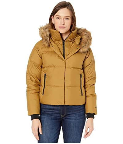 The North Face Deallo Down Crop Jacket (British Khaki) Women