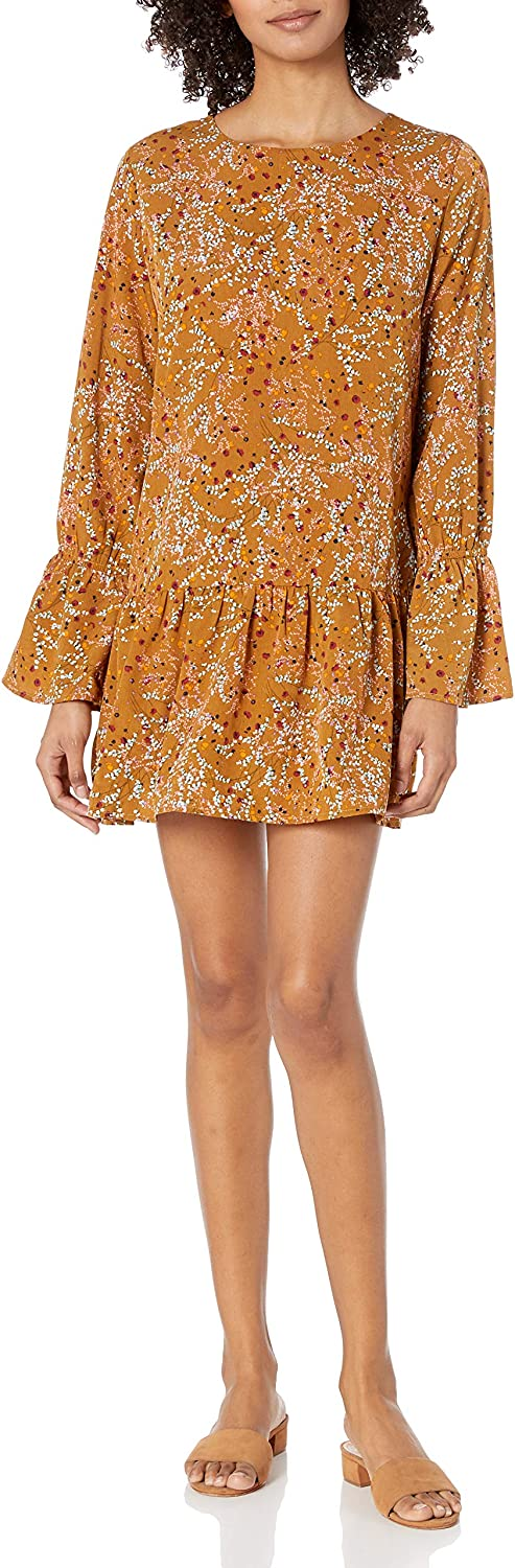 Lowest price challenge Lucca Couture Women's Violet Bell Sleeve 2021 new Print Floral Dress