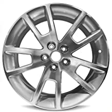 Road Ready Car Wheel For 2008-2012 Malibu Chevrolet 18 Inch 5 Lug Gray Aluminum Rim Fits R18 Tire - Exact OEM Replacement - Full-Size Spare